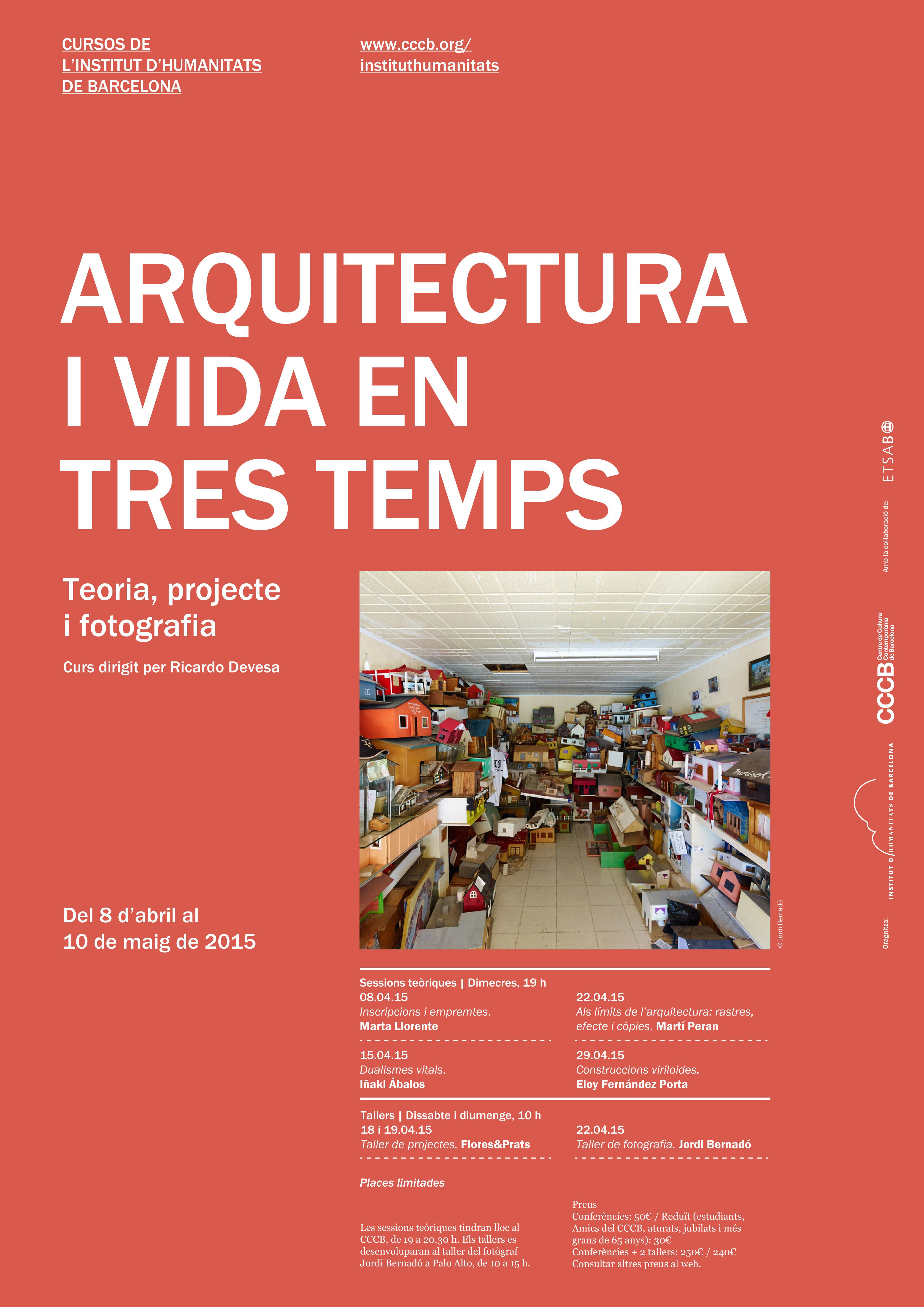 pòster Arquitectura i vida