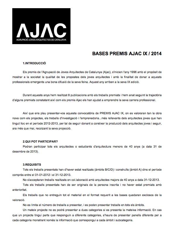 AJAC-PREMIS AJAC IX-BASES-140422