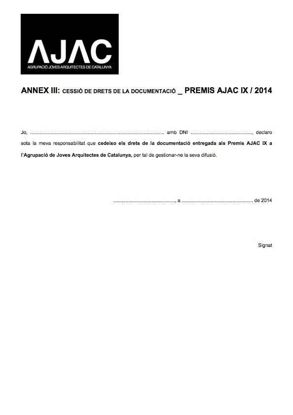 AJAC_Annex III_Cessió Documentació_140422